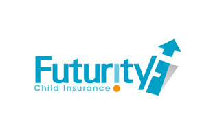 Futurity Child Insurance Insurance & Risk Management Logo Design