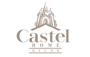 Castel Home Decor Interior & Exterior Logo Design