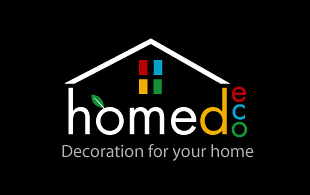 Homed Eco Decoration For your Home Interior & Exterior Logo Design