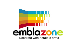 Embalzone Decorate with Heraldic arms Interior & Exterior Logo Design