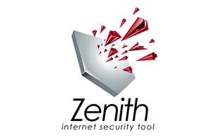 Zenith Internet Security Tool Internet & Cable Logo Design
