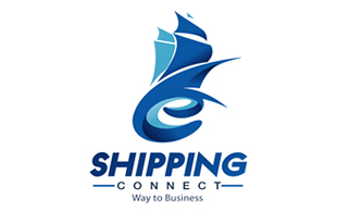Shipping Connect Internet & Cable Logo Design