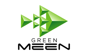 Green Meen  Internet & Cable Logo Design