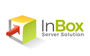 Inbox server Solution Internet & Cable Logo Design