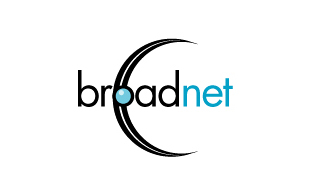 Broadnet Internet & Cable Logo Design