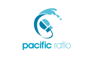 Pacific Ratio Internet & Cable Logo Design