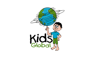 Kids Global Internet & Cable Logo Design