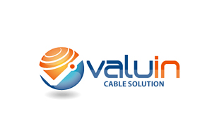 Valuin Cable Solution Internet & Cable Logo Design