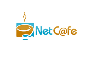 Netcafe Internet & Cable Logo Design