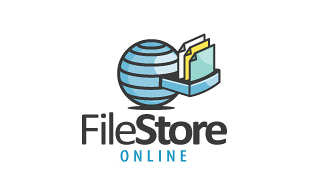Filestore Online Internet & Cable Logo Design