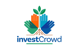 Invest Crowd Investment & Crowdfunding Logo Design