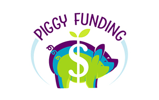 Piggy Funding Investment & Crowdfunding Logo Design