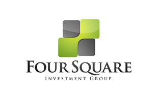 Four Square Investment & Crowdfunding Logo Design