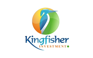 Kingfisher Investment & Crowdfunding Logo Design