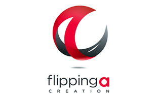 Flipping Creation IT and ITeS Logo Design