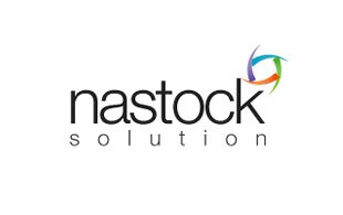 Nastock Solution IT and ITeS Logo Design