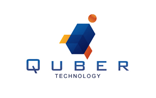 Quber Technology IT and ITeS Logo Design