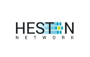 Heston Network IT and ITeS Logo Design