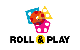 Roll & Play Kid Games & Toys Logo Design