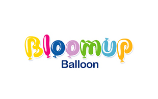 Bloomup Balloon Kids Logo Design