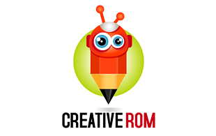 Creative Rom Kids Logo Design