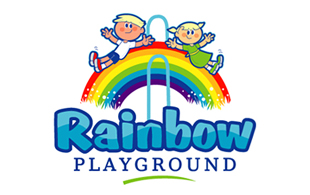 Rainbow Kids Logo Design