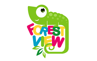 Forest View Kids Logo Design