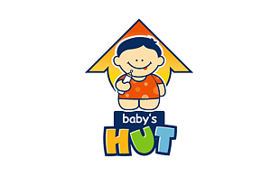 Baby's Hut Kids Logo Design