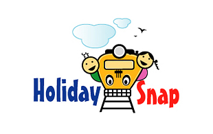 Holiday Snap Kids Logo Design