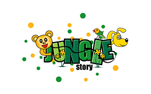 Jungle Story Kids Logo Design
