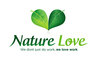 Nature Love Landscaping & Gardening Logo Design