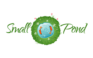 Small Pond Landscaping & Gardening Logo Design