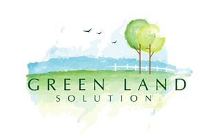 Green Land Solution Landscaping & Gardening Logo Design