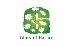 Glory of Nature Landscaping & Gardening Logo Design