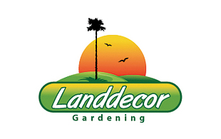 Land Decor Gardening Landscaping & Gardening Logo Design