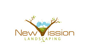 New Vission Landscaping & Gardening Logo Design