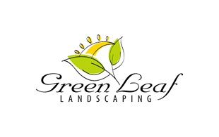 Green Leaf Landscaping & Gardening Logo Design
