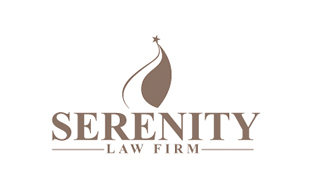 Serenity Law Firm Legal Services Logo Design