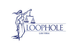 Loop Hole Legal Services Logo Design