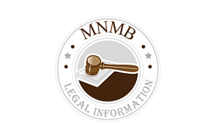 MNMB Legal Information Legal Services Logo Design