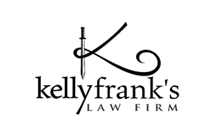 Kelly Franks's Law Firm Legal Services Logo Design