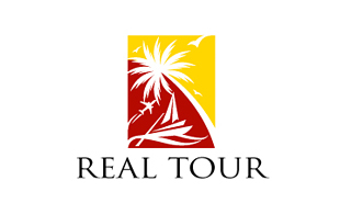 Real Tour Leisure, Travel & Tourism Logo Design
