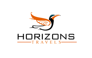 Horizons Travel Leisure, Travel & Tourism Logo Design