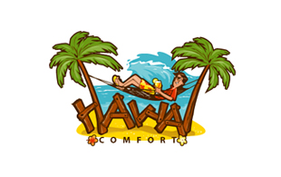 Hawa Comfort Leisure, Travel & Tourism Logo Design