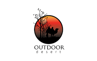 Outdoor Desert  Leisure, Travel & Tourism Logo Design