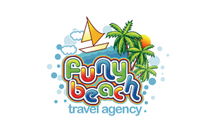 Funy Beach Travel Agency Leisure, Travel & Tourism Logo Design