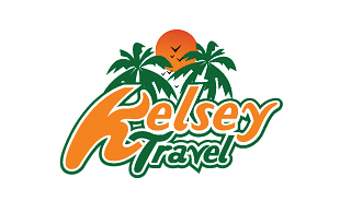 Kelsey Travel Leisure, Travel & Tourism Logo Design