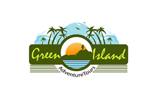 Green Island Leisure, Travel & Tourism Logo Design