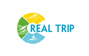 Real Trip Leisure, Travel & Tourism Logo Design