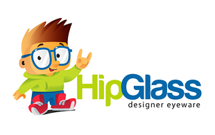 Hip Glass Lens & Optics Logo Design